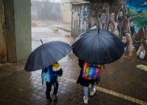 היום ומחר: גשמים בכל הארץ; קר וחשש לשטפונות