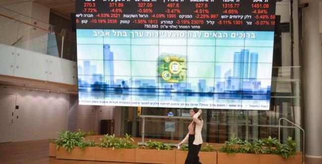 לאחר הירידות אמש: עליית שערים בבורסה בתל אביב