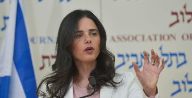 ההצעה של פעילי הבית היהודי לאיילת שקד