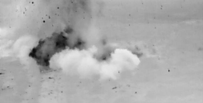 צפו: רגע פיצוץ המנהרה החמישית שחדרה מלבנון