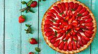 אוכל, מתכונים חלביים השבת שלנו תותים: מתכון לעוגה חלומית