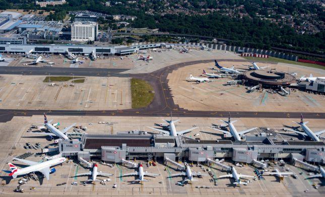תעלומה בלונדון: רחפנים השביתו את שדה התעופה