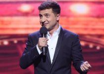 הלם באוקראינה: הקומיקאי היהודי מוביל בבחירות