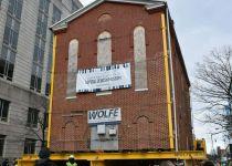 צפו: בית הכנסת מתגלגל ברחובות העיר