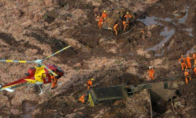 אסון בברזיל: חיפושים אחר 200 נעדרים בקריסת סכר