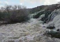 גשם של ברכה: צפו בזרימה בנחלי הצפון והדרום