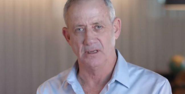 """""""ישראל לפני הכל"""": בני גנץ חושף את סיסמת הבחירות שלו"""