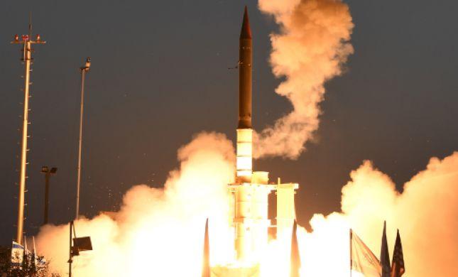 """צפו: תיעוד מניסוי הטילים המוצלח של מערכת """"חץ 3"""""""