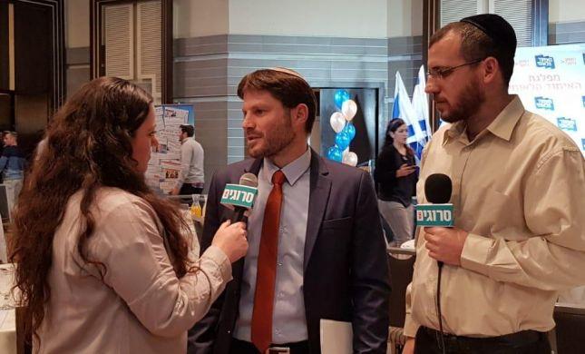 """צפו: ראיון ראשון עם המנצח, יו""""ר האיחוד הלאומי"""