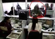 """תיעוד: שב""""ח מירדן שודד סניף דואר בבאר שבע. צפו"""