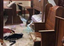 """נתניהו: """"מזועזע מחילול בית הכנסת בירושלים"""""""