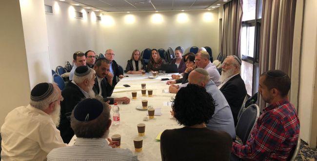 """תיעוד ראשוני: מהראיונות לתפקיד יו""""ר הבית היהודי"""
