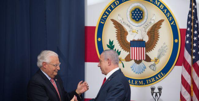 """פרידמן על מעבר השגרירות לי-ם: """"היה היום הטוב בחיי"""""""