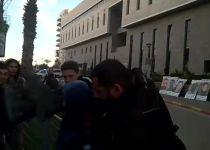 צפו: הפגין נגד מעצר הקטינים ונפצע באורח קשה