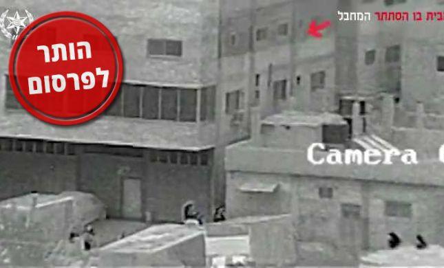 תיעוד מיוחד: כך חוסל המחבל מהפיגוע בברקן