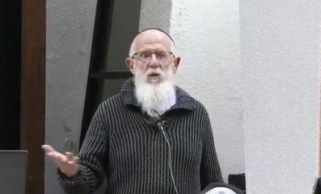 """הרב מדן: """"רצח הפלסטינית מחייב קריעה פומבית"""". צפו"""