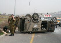 שני חיילים נפצעו בהתהפכות רכב צבאי בדרום