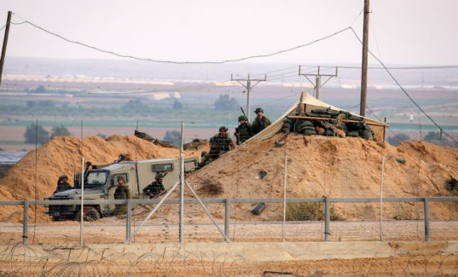 קצין נפצע מירי צלפים בגבול רצועת עזה