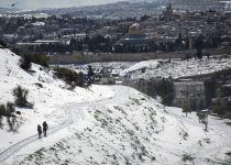 סוף לשמועות: ירד או לא ירד שלג בירושלים? צפו וגלו