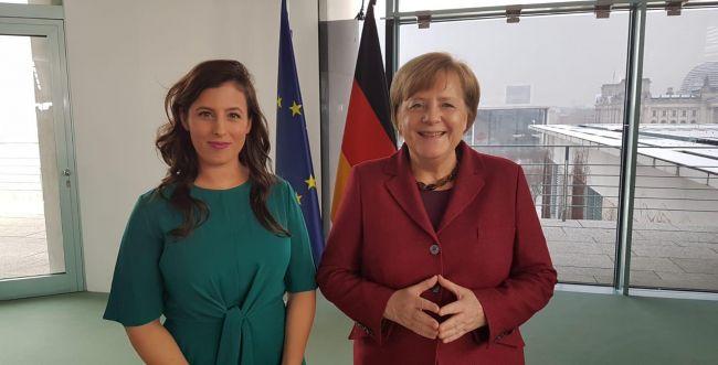 """אנגלה מרקל: """"תומכים במדיניות ישראל בסוריה"""""""