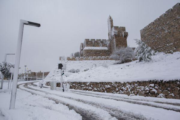 תחזית מעודכנת: ביום רביעי השלג ייתפס בירושלים
