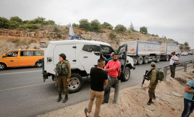 שני פלסטינים נהרגו בתאונה קשה בכביש 60