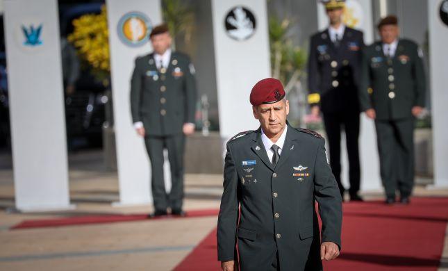 """הרמטכ""""ל ערך ביקורת פתע ב-110 מחנות צה""""ל"""