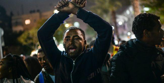 """יוצאי אתיופיה נגד האלימות: """"הם לא חלק מאיתנו"""""""
