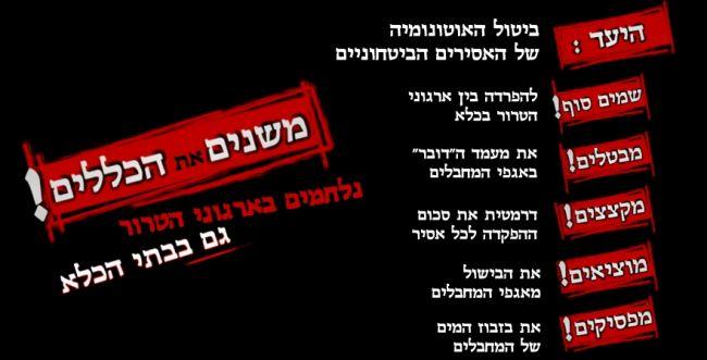 נגמרה החגיגה של המחבלים בכלא הישראלי