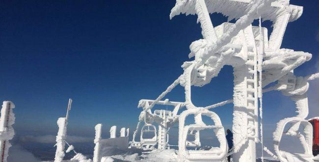 מרהיב• הירדן זורם לכינרת והשלג נערם בחרמון. צפו: