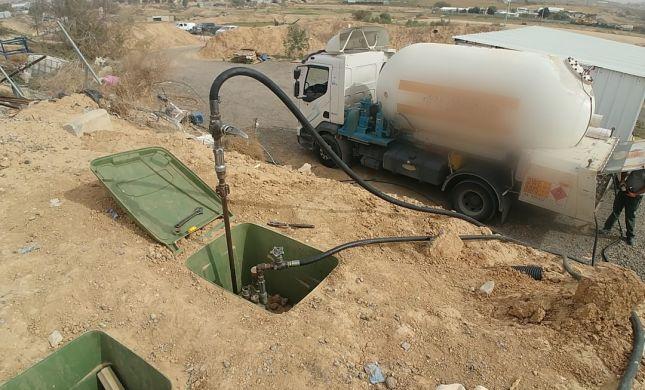 סכנת נפשות: נתפסה חוות גז פיראטי הגדולה בארץ