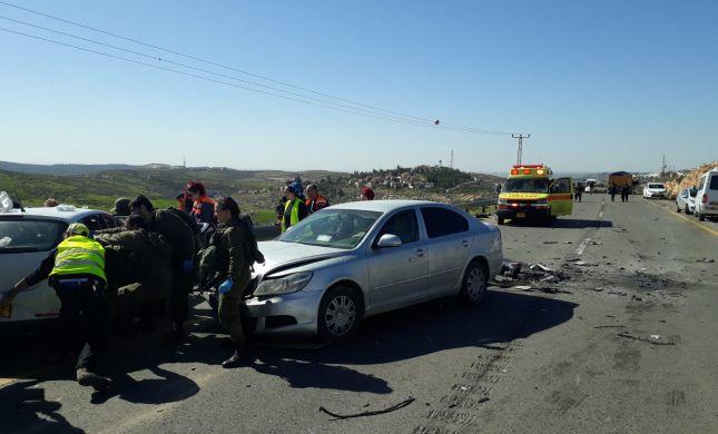 הרוג בתאונה עם משאית פלסטינית בדרום הר חברון