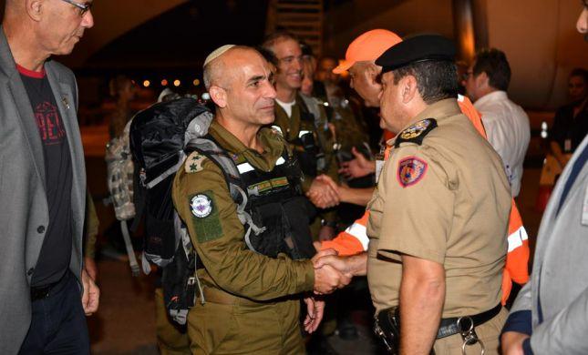 """בדרך לחילוץ: משלחת הסיוע של צה""""ל נחתה בברזיל"""