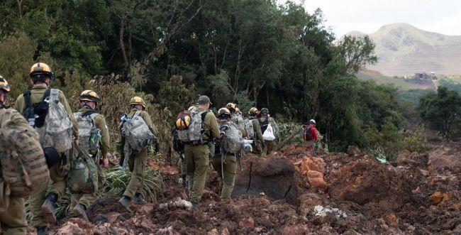 """צפו בתיעוד: צה""""ל מסייע באיתור נעדרים בברזיל"""