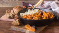 אוכל, מתכונים בשריים סורגים שבת: מתכון לתבשיל בשר עם פירות יבשים