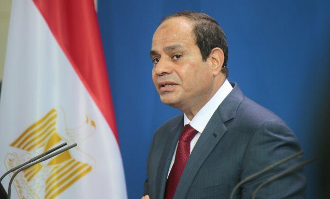 נשיא מצרים: משתפים פעולה עם ישראל נגד דאעש