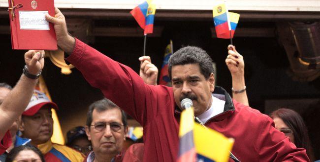 """""""מוצבת לצד איראן"""": ארה""""ב תטיל סנקציות על ונצואלה"""