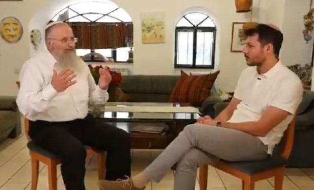 בין ספרדים לאשכנזים: עודד הרוש בשיחה עם הרב אליהו