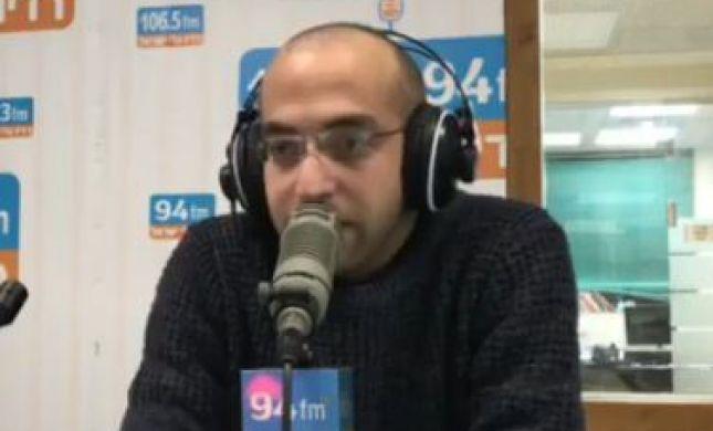 צפו: שדר גלי ישראל מאיים על סמוטריץ' בשידור חי