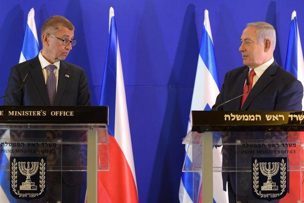 """נתניהו לר""""מ צ'כיה: """"אין גבול לשיתוף פעולה בינינו"""""""