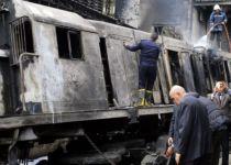 קשה לצפייה: תיעוד מאסון תאונת הרכבת בקהיר