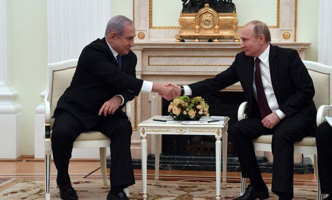 """נתניהו: """"סיכמנו עם פוטין על הוצאת כוחות מסוריה"""""""