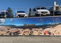 אנטישמיות באוסטרליה: צלבי קרס רוססו בחוף הים