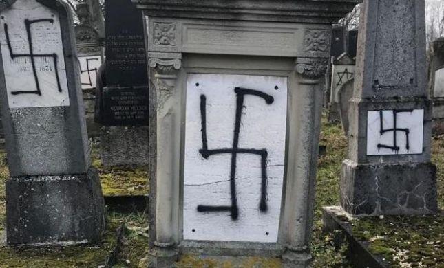 צרפת: 80 קברים הושחתו בבית קברות יהודי במדינה
