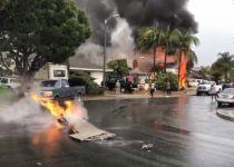 """ארה""""ב: מטוס התרסק לתוך בית פרטי, 5 הרוגים במקום"""