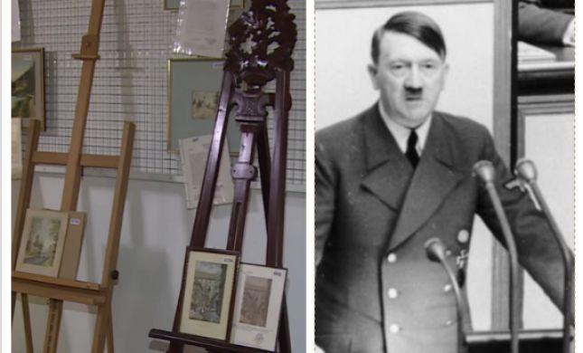 זה מה שקרה כשציורים של היטלר הוצעו למכירה