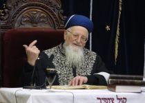 צפו: הרב מרדכי אליהו על הרב מאיר כהנא