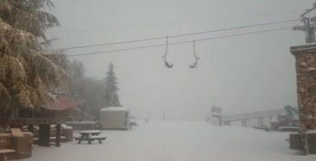 החורף עוד פה: גשם ללא הפסקה; השלג קופץ לביקור