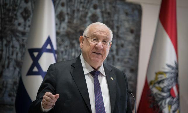 נשיא המדינה לראש מועצת שומרון: חדל משביתת הרעב