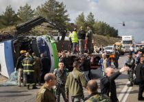 הנהגים האחראים לתאונה בכביש 443 יעמדו לדין